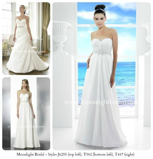 Strapless Gowns wedding dress